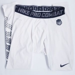 #541 Men's Nike Pro Combat Football Leggings